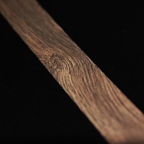 Plintenfabriek | Plakplint abachi houtfineer