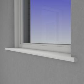 Plintenfabriek | Dione vensterbank MDF vochtwerend - eenvoudig online bestellen