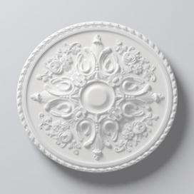 Plintenfabriek | Arstyl R12 - Rozet van PU - eenvoudig online bestellen