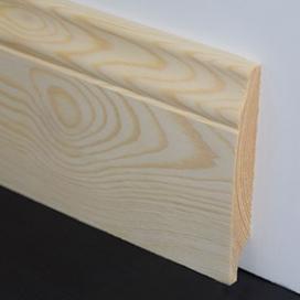 Plintenfabriek | Golfplint grenenhout - eenvoudig online bestellen