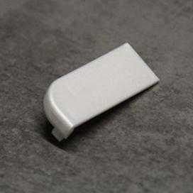Plintenfabriek | Set eindstukjes (L + R) aluminium plint 5404 - eenvoudig online bestellen
