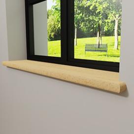 Plintenfabriek | Melia vensterbank grenen - eenvoudig online bestellen