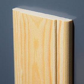 Plintenfabriek | Luxe architraaf grenenhout - eenvoudig online bestellen