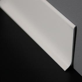 Plintenfabriek | Aluminium plint mat wit - eenvoudig online bestellen