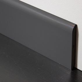 Plintenfabriek | PVC-plint antraciet - eenvoudig online bestellen