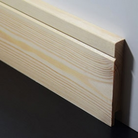 Plintenfabriek | Lineaplint grenenhout - eenvoudig online bestellen
