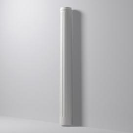 Plintenfabriek | NMC Domostyl DFS3 - Gecanneleerde zuil - eenvoudig online bestellen