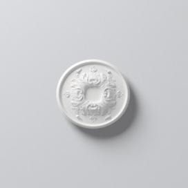 Plintenfabriek | Arstyl R1520 - Rozet van PU - eenvoudig online bestellen