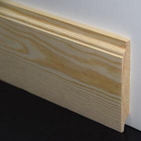 Plintenfabriek | Curveplint grenenhout - eenvoudig online bestellen