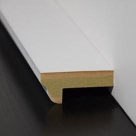Plintenfabriek | Klassieke lambriseringtoplijst MDF vochtwerend - eenvoudig online bestellen