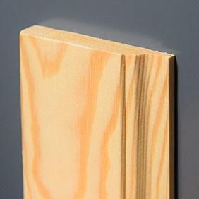 Plintenfabriek | Curve-architraaf grenenhout - eenvoudig online bestellen