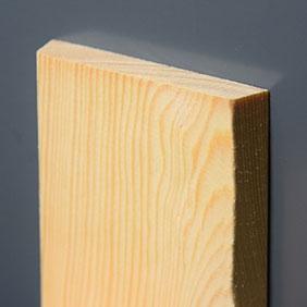 Plintenfabriek | Schuine architraaf grenenhout - eenvoudig online bestellen