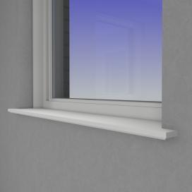 Plintenfabriek | Zelus vensterbank MDF vochtwerend - eenvoudig online bestellen