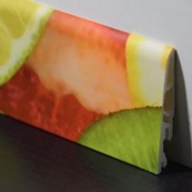 Plintenfabriek | Kinderplint met fruitplint- eenvoudig online bestellen