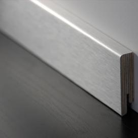 Plintenfabriek | Aluminium fineerplint geborsteld - eenvoudig online bestellen