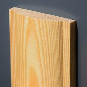 Plintenfabriek   Landelijke architraaf grenenhout - eenvoudig online bestellen