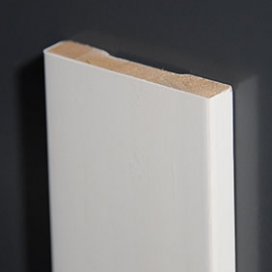 Plintenfabriek | Set gladde architraven hardhout mix (spuitplamuurlaag-afwerking) - eenvoudig online bestellen