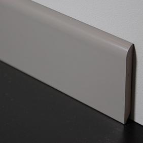 Plintenfabriek | PVC-plint semi-gloss grijs - eenvoudig online bestellen