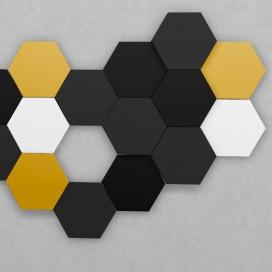 Wandpanelen Presso Hexagon MDF bestellen bij de Plintenfabriek