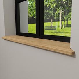 Plintenfabriek | Triton vensterbank eiken - eenvoudig online bestellen