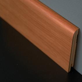 Plintenfabriek | Fineerplint natuurlijke tanganyika noot - eenvoudig online bestellen