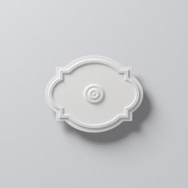 Plintenfabriek | Nomastyl Plus O01 - Rozet van EPS - eenvoudig online bestellen