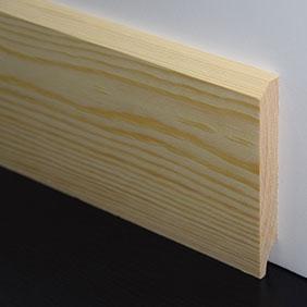 Plintenfabriek | Schuine plint grenenhout - eenvoudig online bestellen