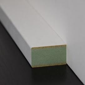 Plintenfabriek | Moderne lambriseringtoplijst MDF vochtwerend - eenvoudig online bestellen