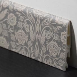 Plintenfabriek | Decorplint met bloembehangprint - eenvoudig online bestellen