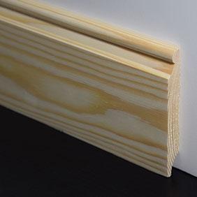 Plintenfabriek | Troonplint grenenhout - eenvoudig online bestellen