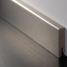 Plintenfabriek | Aluminium fineerplint naturel brons - eenvoudig online bestellen