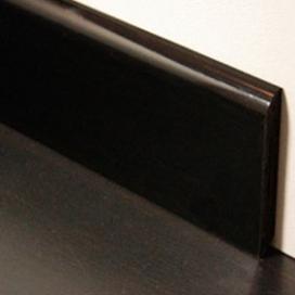 Plintenfabriek | PVC-plint semi-gloss zwart - eenvoudig online bestellen