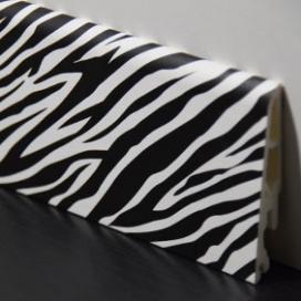 Plintenfabriek | Decorplint met donkere zebraprint - eenvoudig online bestellen