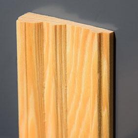 Plintenfabriek   Elegance-architraaf grenenhout - eenvoudig online bestellen