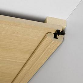 Plintenfabriek | Plafondlijst MDF E1 met fineerlaag - eenvoudig online bestellen