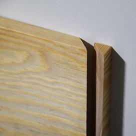 Plintenfabriek | Grenen eindstukje plint rechts - eenvoudig online bestellen