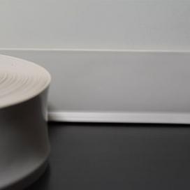 Plintenfabriek | Flexibele PVC-plint wit (2,5 mm) - eenvoudig online bestellen