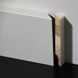 Plintenfabriek | Hardhout eindstukje plint rechts - eenvoudig online bestellen