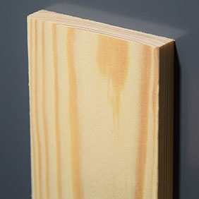 Plintenfabriek | Gladde architraaf grenenhout - eenvoudig online bestellen