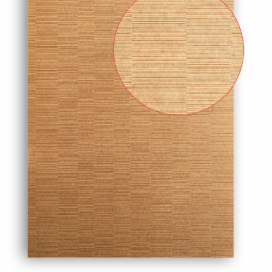 Plintenfabriek | MDF vochtwerend plaat bruin met structuur - eenvoudig online bestellen