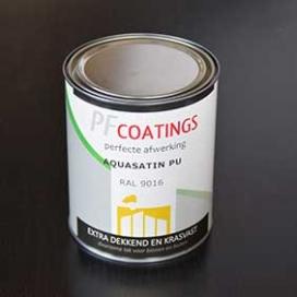 Plintenfabriek | PF Coatings zijdeglans verf waterbasis - eenvoudig online bestellen