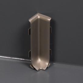 Plintenfabriek | Binnenhoek aluminium plint - eenvoudig online bestellen