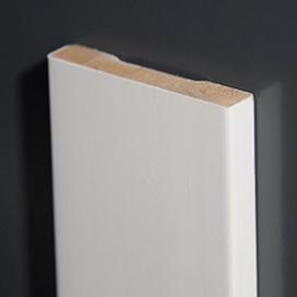Plintenfabriek | Gladde architraaf hardhout mix (spuitplamuurlaag-afwerking) - eenvoudig online bestellen