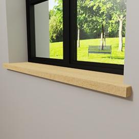 Plintenfabriek | Hestia vensterbank grenen - eenvoudig online bestellen