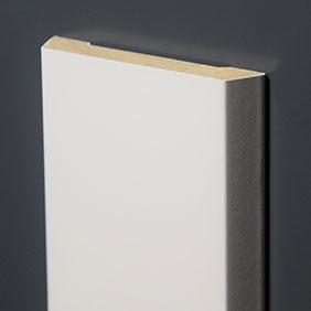 Plintenfabriek | Schuine architraaf hardhout mix (spuitplamuurlaag-afwerking) - eenvoudig online bestellen