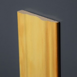 Plintenfabriek | Sierlijke architraaf MDF fineer/folie - eenvoudig online bestellen