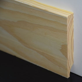 Plintenfabriek | Gladde plint grenenhout - eenvoudig online bestellen