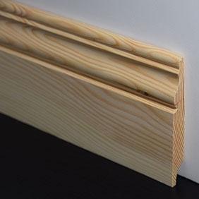 Plintenfabriek | Classiqueplint grenenhout - eenvoudig online bestellen