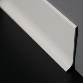 Plintenfabriek | Aluminium plint glanzend wit - eenvoudig online bestellen