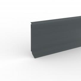 Plintenfabriek | PVC-plint donkergrijs - eenvoudig online bestellen